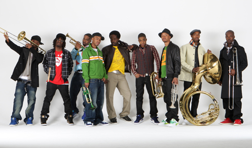 Hypnotic Brass Ensemble.